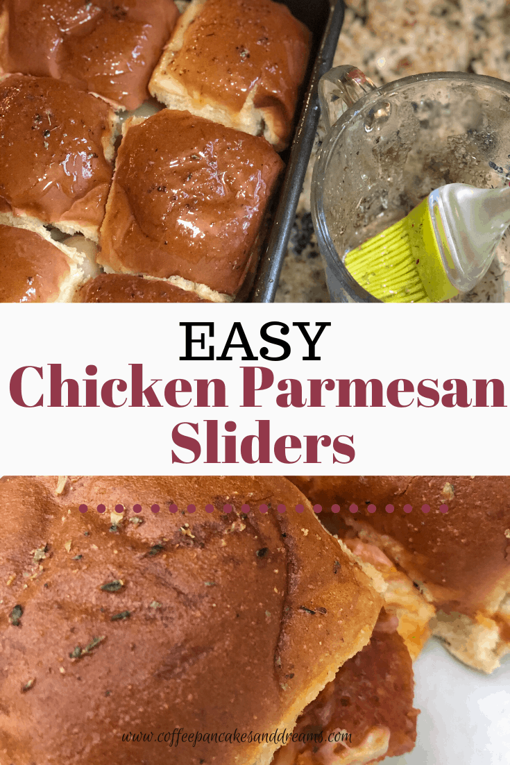 Easy Chicken Parmesan Sliders with Hawaiian Rolls #appetizers #quickdinners #easymeals