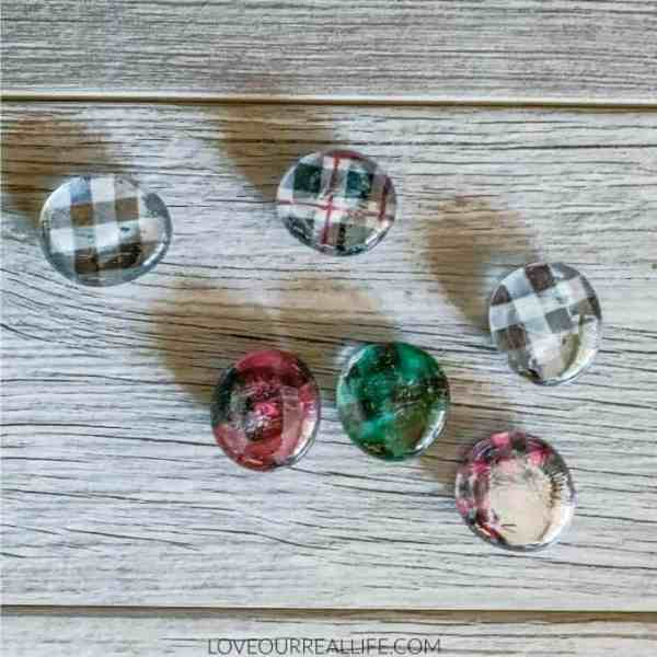 Glass Pebble Magnets DIY