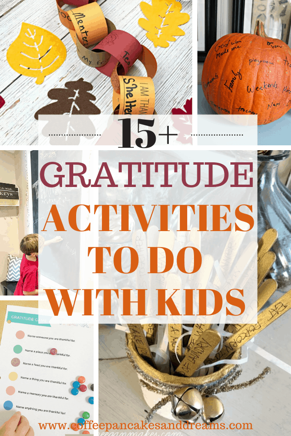 Gratitude activities with kids