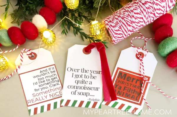 Christmas Vacation Gift Tags