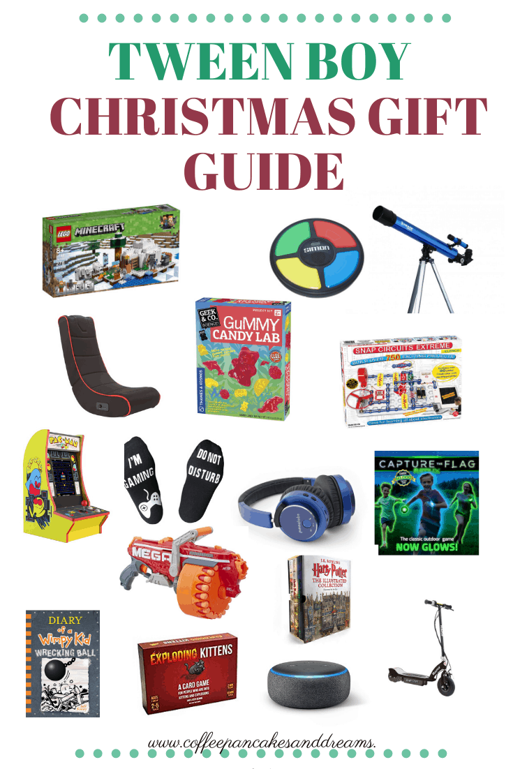 Christmas Gift Ideas for Tween Boys #holiday #boys #screenfree