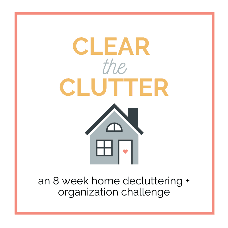 Decluttering Plan for 2020