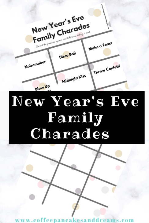 New Year's Eve Charade Game