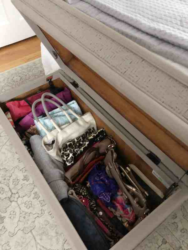 Use Storage Trunks for Small Bedroom Organization