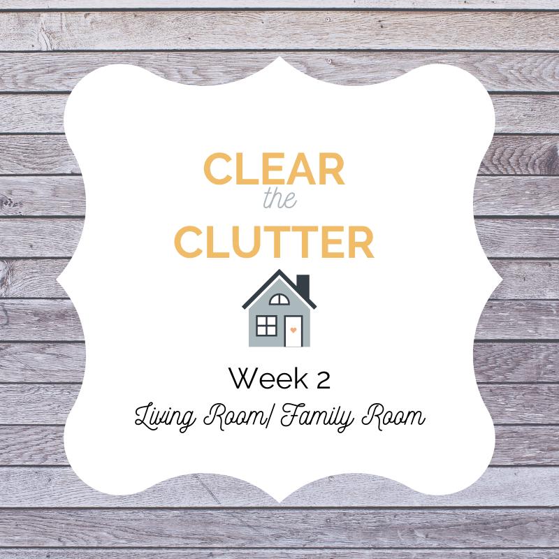 Declutter Challenge 2020 #cleartheclutter #deculttering #livingroom
