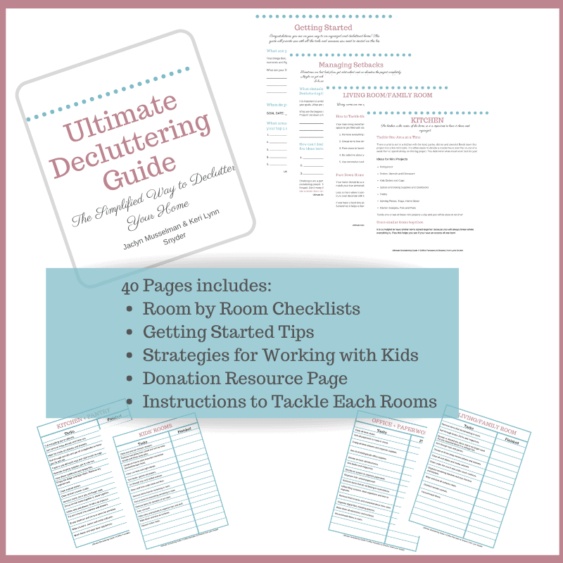 Ultimate Decluttering Guide #clutterfree #organization #cleartheclutter