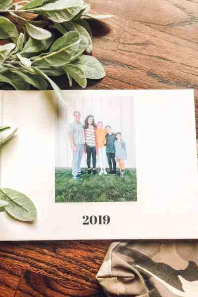 easiest way to organize family photos into album