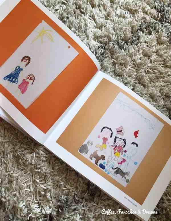 how to organize kids art work