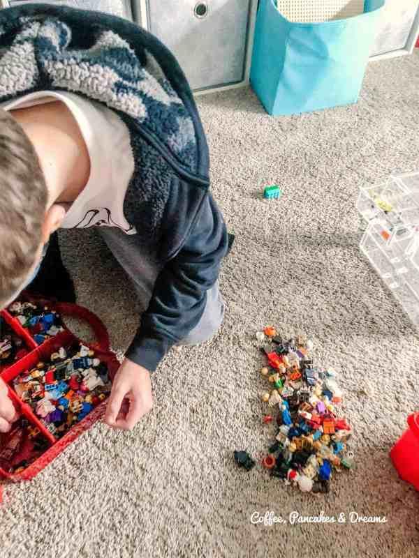 Kid Lego Organization Ideas