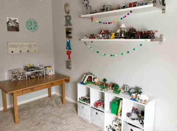 Lego play room #legoorganization #legotstorage