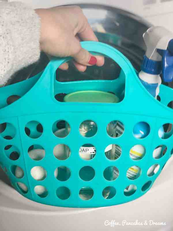 Cheap Laundry Room Hacks #declutter #dollartree #laundrysupplies