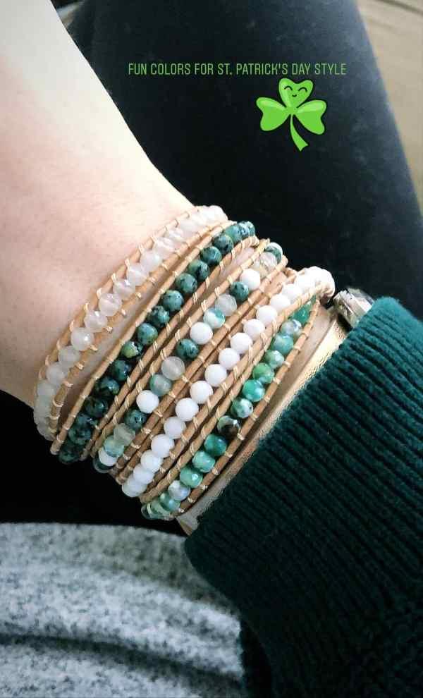 Jade Emerald Victoria Emerson bracelet
