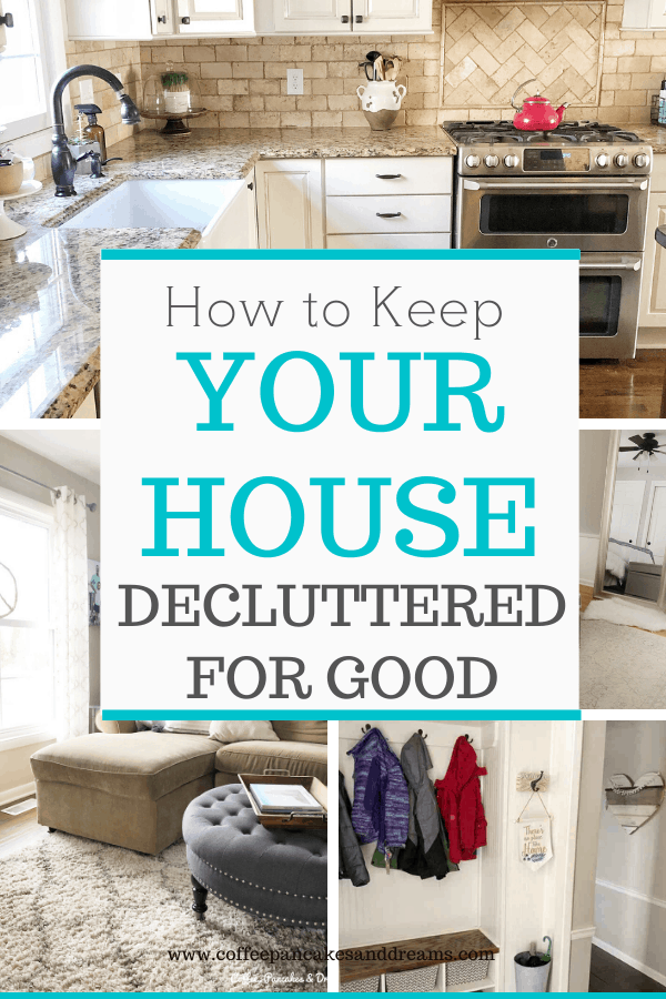 How to maintain a clutter free home #clutterfree #declutter #organization