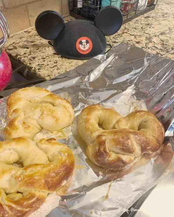 homemade disney pretzels