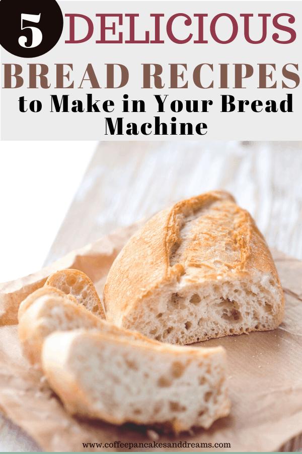 Easy Bread Machine Recipes for Beginners #pizzadough #whitebread #dinnerrolls