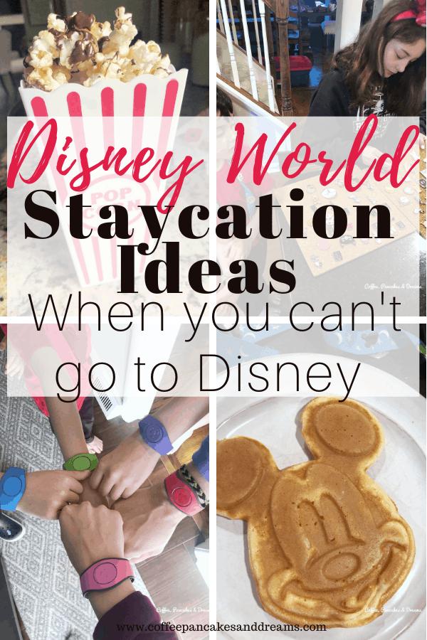 how to have a Disney staycation at home #disneyworld #magickingdom #disneyrecipes