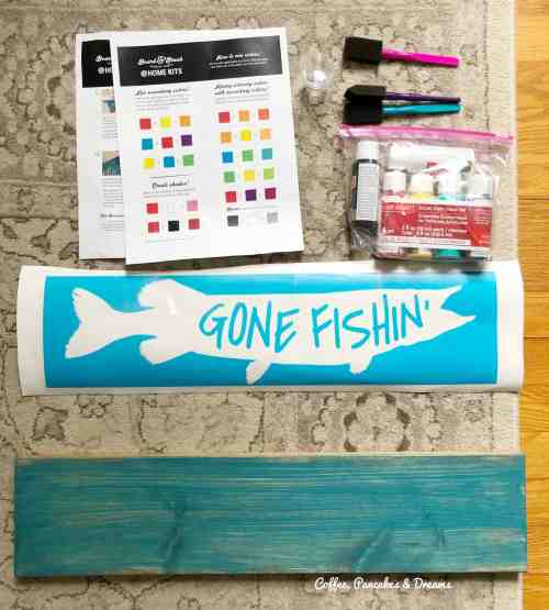 Board and Brush DIY Take Home Kits