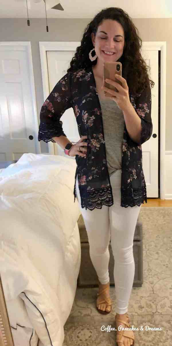 Stitch Fix May Unboxing 2020 // Floral Lace Kimono