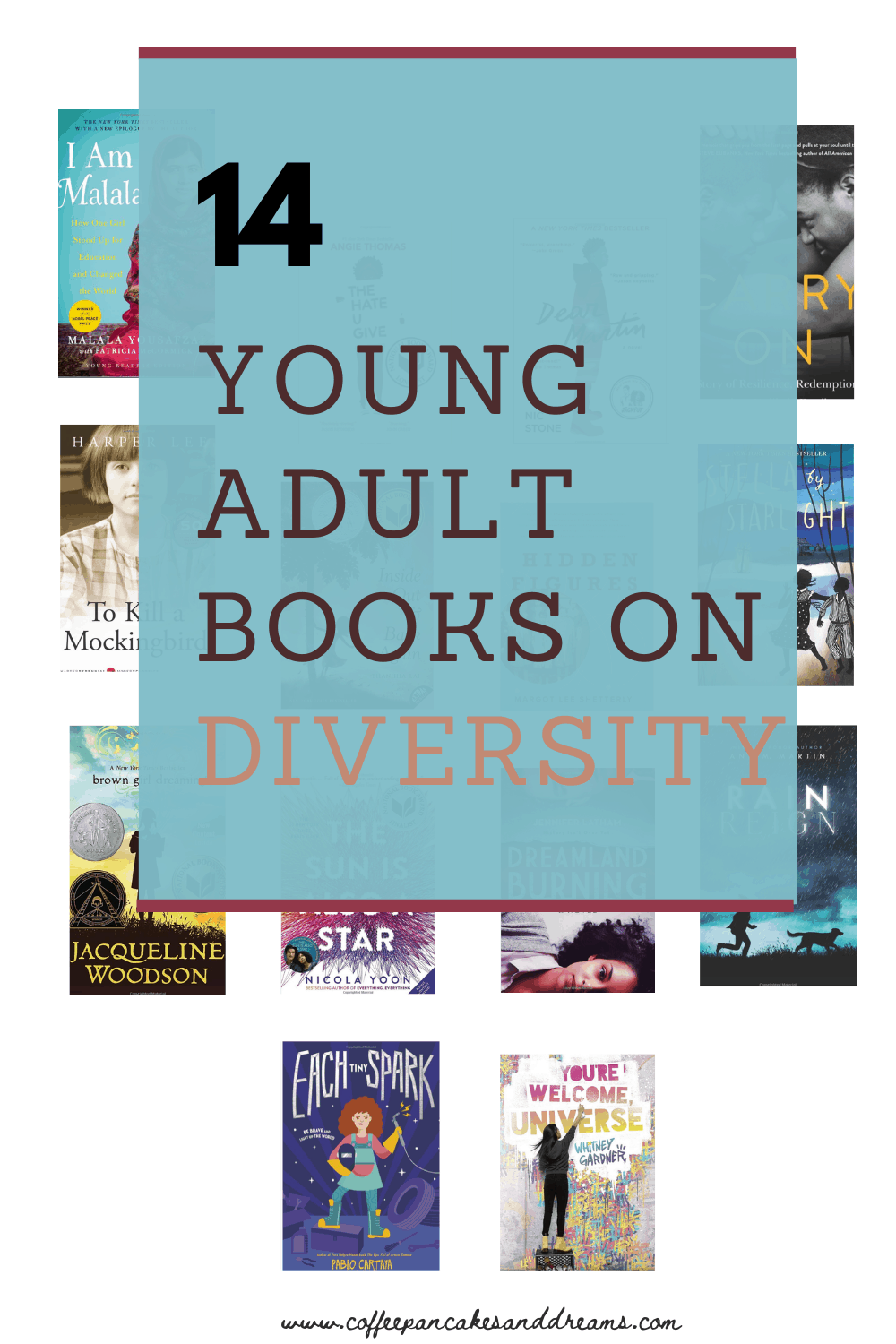 14 Young Adult Books on Diversity for your Tween and Teen to Read this summer #diversity #summerreading #bookrecommendations