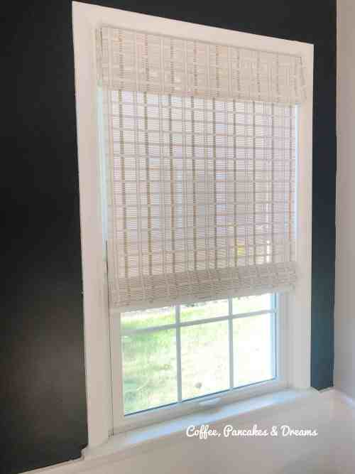 Inexpensive Whitewash Colored Blinds #romanshades #woven #amazon