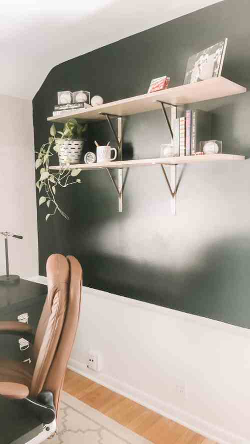 Small Home Office Makeover Project for Him