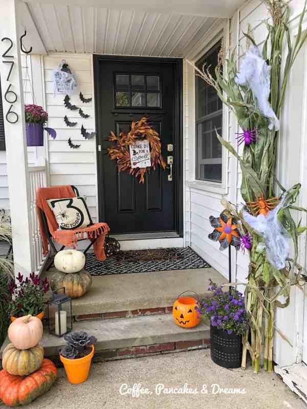 Halloween Front Porch Decor Not So Spooky Ideas