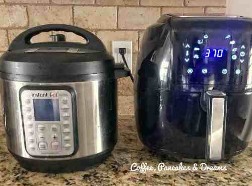 Air Fryer Versus Instant Pot Review #comparison #pros #recipes #mealplanning