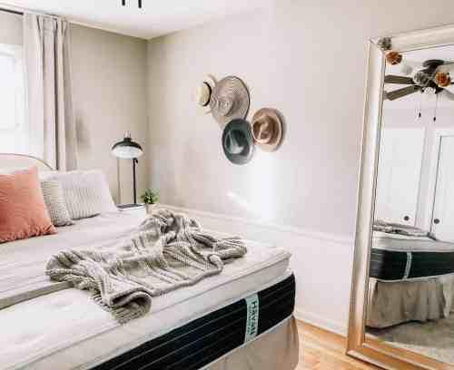Cozy Bedroom Decor Ideas #havenmattress #sponsored #neutralbedroom