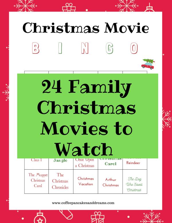 Best Christmas Movies for Family #kids #familyfriendly #printablelist #2020