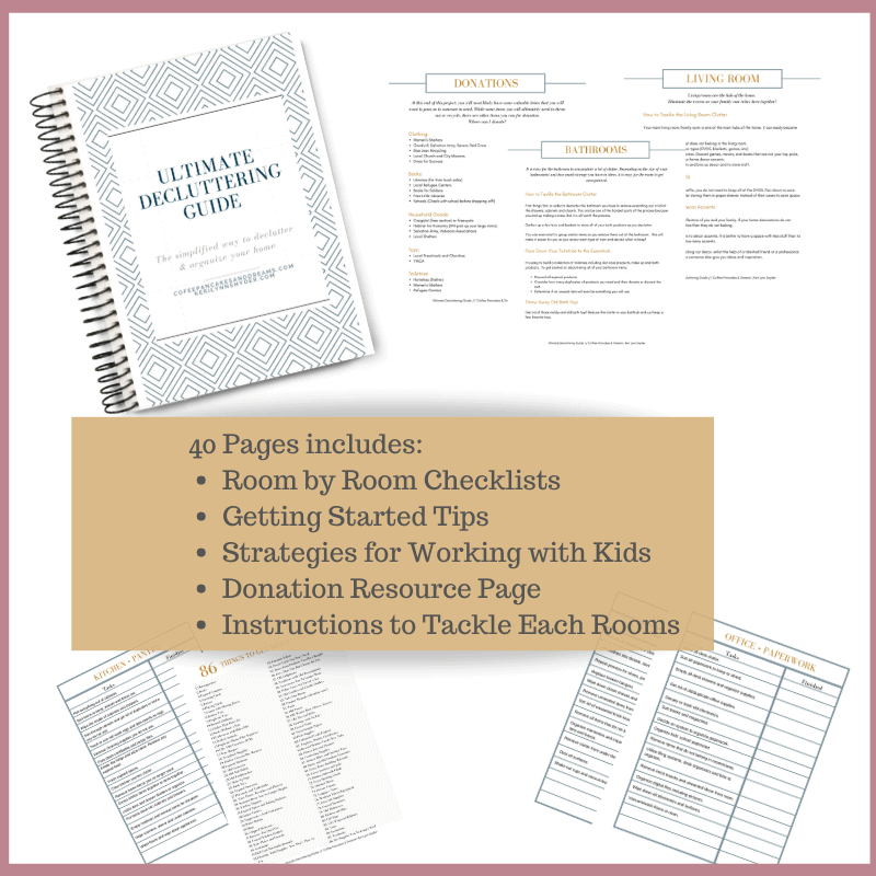 Declutter Program 2020 #checklist #decluttering #stepbystep