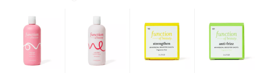 Function of Beauty Curly Hair Products