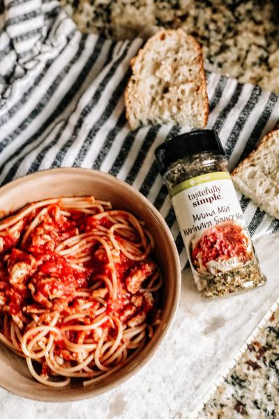 Tastefully Simple Giveaway March 2021