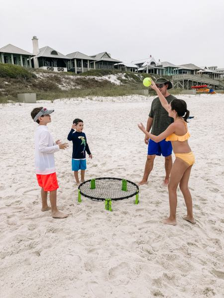 Beach games for kids and families