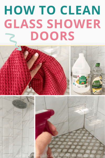 How to Clean Soap Scum Off of Shower Doors