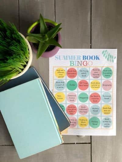 Printable Summer Reading Challenge
