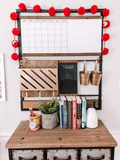 family command center calendar