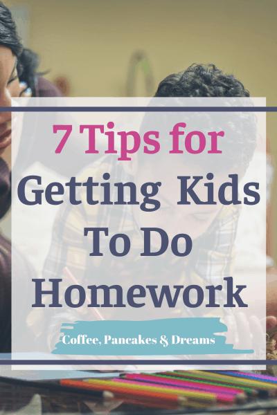 Tips for Doing Homework