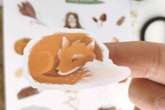 Fuchs Sticker