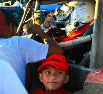 Boy and Driver