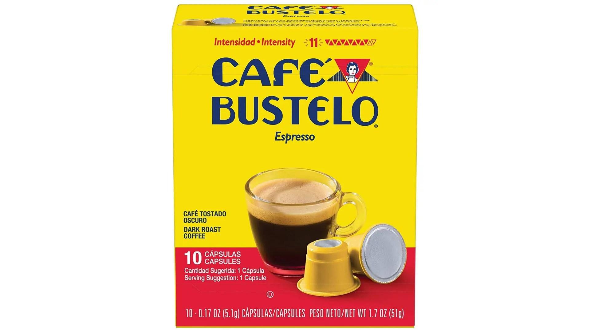 cafe bustelo espresso capsules