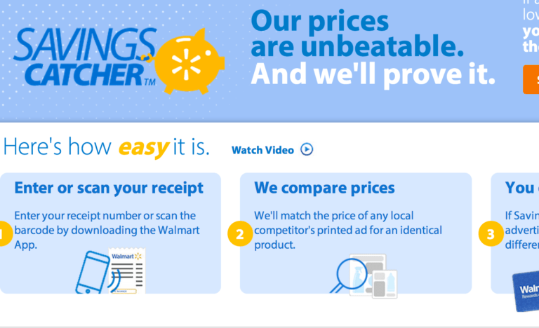Attention Walmart Shoppers Use The Savings Catcher
