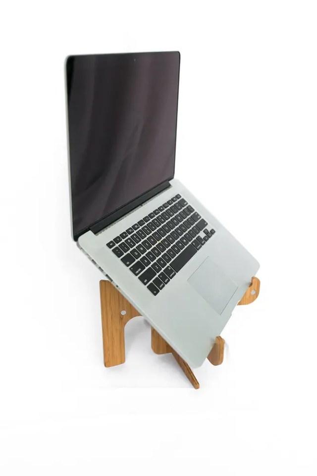 Laptop on Coffee Shop Hero