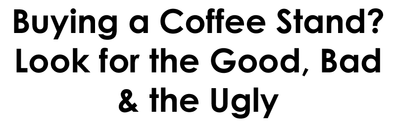 how to buy a coffee stand