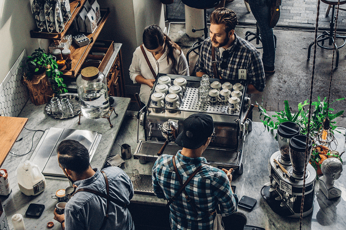 complete steps to starting a coffee shop