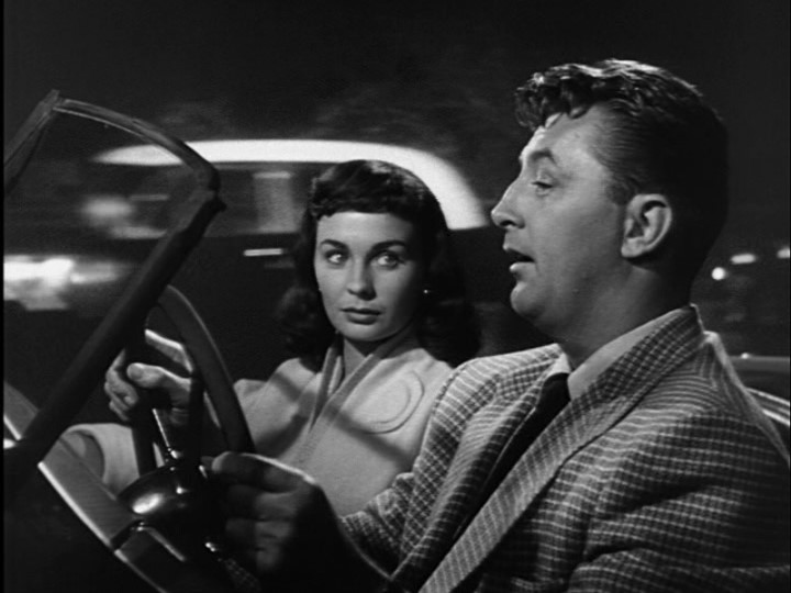 """Simmons & Mitchum in """"Angel Face"""""""