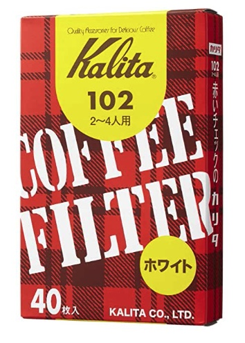What Type of Filter does the Kalita 102 Use