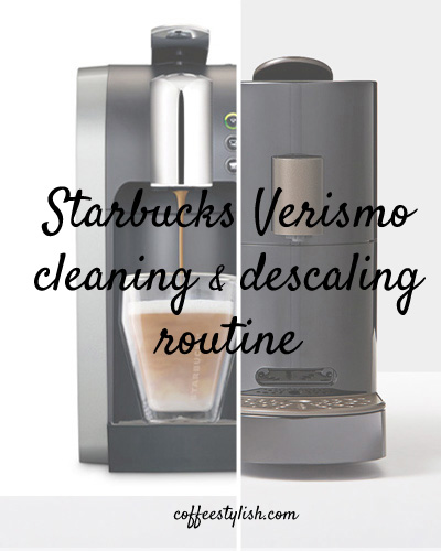 how to clean verismo machine