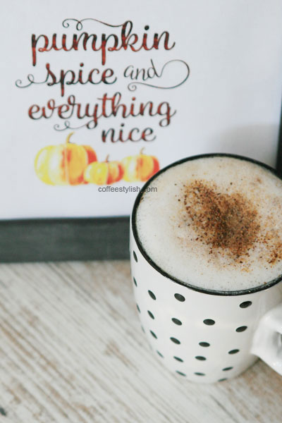insant pupkin spice latte mix recipe