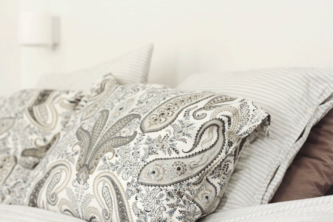 Bed linen gant paisley lexington pinstripe