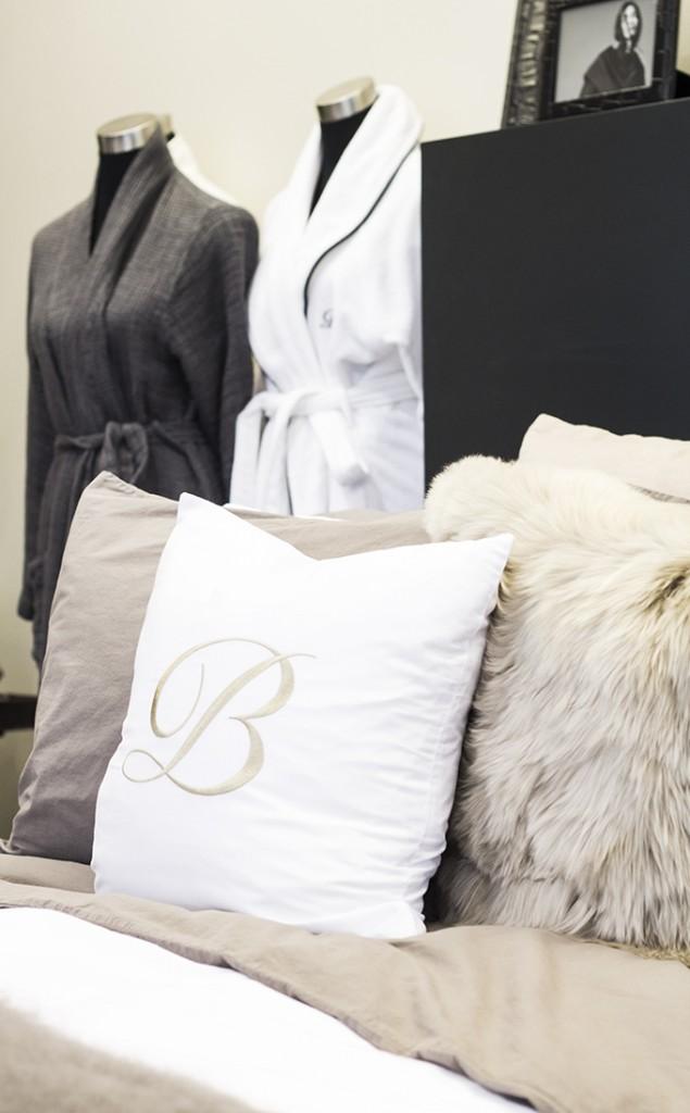 Balmuir fall winter 2015 bed linen showroom Lauttasaari